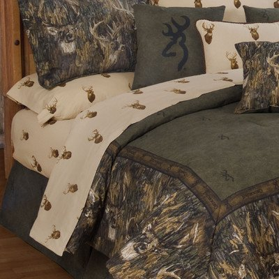 Full Size Camo Bedding 7466 front