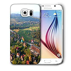 Snoogg City From The Top Printed Protective Phone Back Case Cover For Samsung Galaxy S6 / S IIIIII