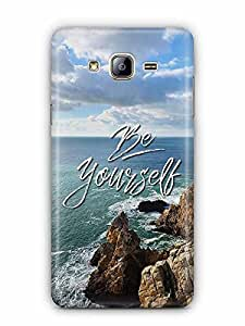 YuBingo Be Yourself Designer Mobile Case Back Cover for Samsung Galaxy On 5