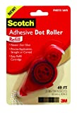 Scotch Adhesive Dot Roller Refill, 0.31 x 49 Feet (6055-R)