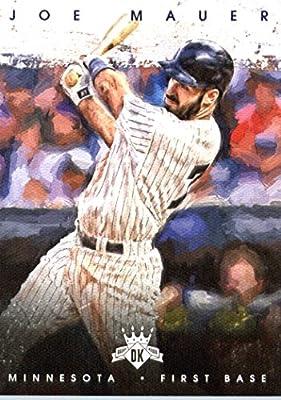 2016 Panini Diamond Kings #79 Joe Mauer Minnesota Twins Baseball Card-MINT
