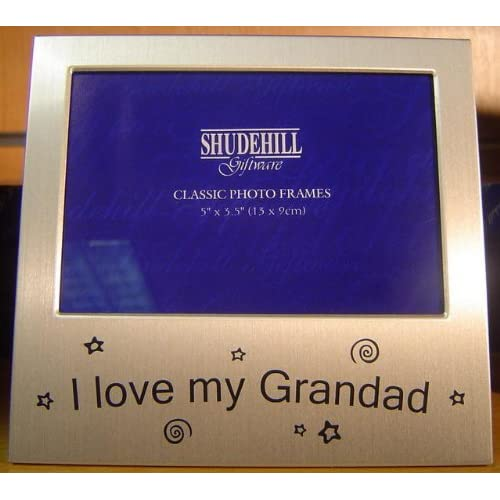 I Love My Grandad' Photo Frame Grandpa Gift