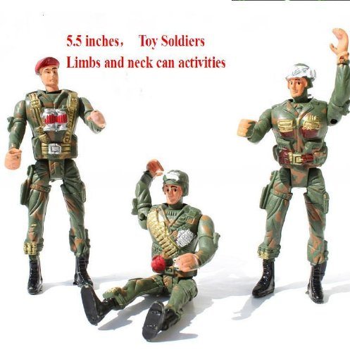 Activities As Soldier Pack of 3,assorted Colors / Assortment May Vary. 5.5 Inches - 1