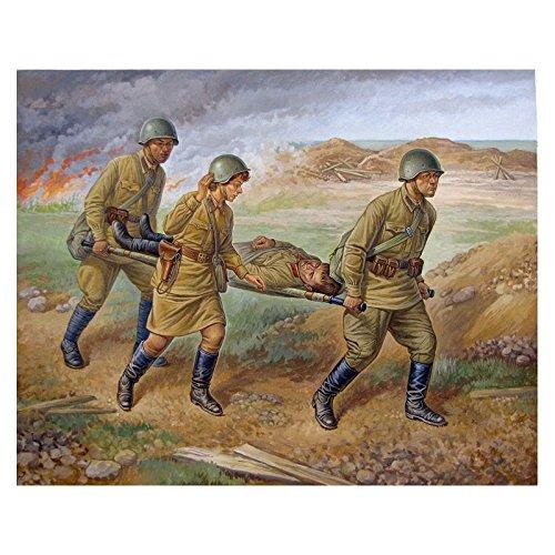 Zvezda Models Soviet Medical Personnel 1941-42 SnapFit