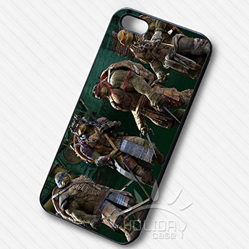 Teenage Mutant Ninja Turtles Full Team -AS Iphone 6 and Iphone 6s Case (White Rubber Case)
