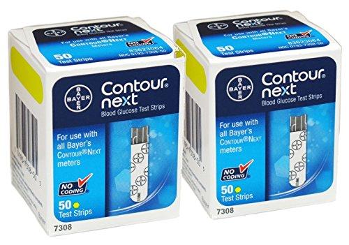 Bayer Contour Next Test Strips (100 Strips EXP: 11/30/2016)