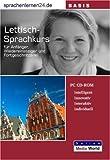 echange, troc Udo Gollub - Sprachenlernen24.de Lettisch-Basis-Sprachkurs CD-ROM für Windows/Linux/Mac OS X (Livre en allemand)