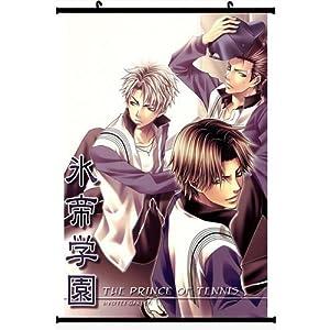 "Home Decor Japanese Anime Wall Scroll Anime Poster Prince of Tennis(24""*35"")"