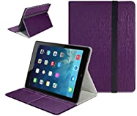 SUPCASE Slim Fit Folio Leather Case Cover for HP Slate 7 inch tablet (Elastic Hand Strap, Free Stylus, Multiple Color Options) by SUPCASE