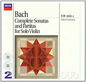 Complete Sonatas & Partitas For Solo Violin