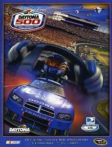 NASCAR Canvas 36 x 48 Daytona 500 Program Print Race Year: 51st Annual - 2009 by Mounted Memories