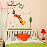 WOW INTERIORS DISNEY (OFFICIALLY LICENSED)- WINNIE THE POOH DISNEY KIDS WALL STICKER