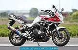 アールズギア(r's gear) フルエキゾーストマフラー ワイバン シングル チタンドラッグブルー CB1300SB (14-) WH19-01DB