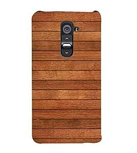 Brown Wood Texture 3D Hard Polycarbonate Designer Back Case Cover for LG G2 :: LG G2 D800 D980