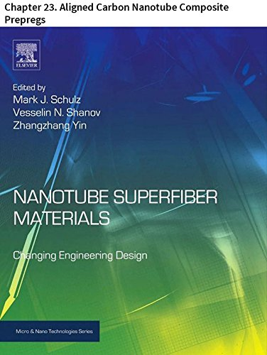 Nanotube Superfiber Materials: Chapter 23. Aligned Carbon Nanotube Composite Prepregs (Micro and Nano Technologies) (Carbon Prepreg compare prices)