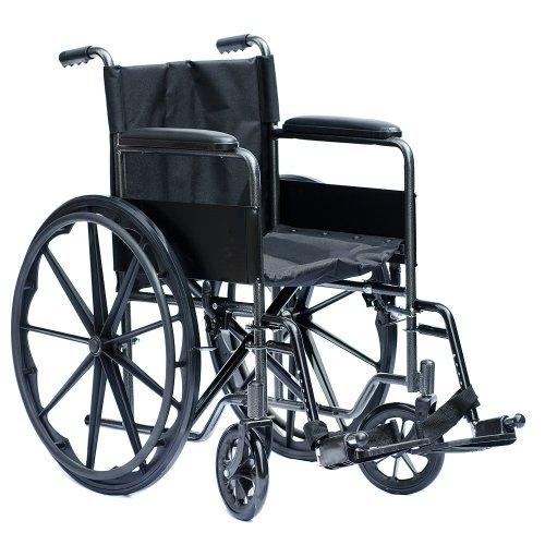 Fauteuil roulant manuel Viva Medi - Largeur d'assise 45 cm