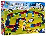 Pista de carreras de coches Mega circuito con Auto 364 cm - coches de carreras de hipódromo - Pistas - pista de carreras para ninos pequenos - Juguetes para ninos pequenos