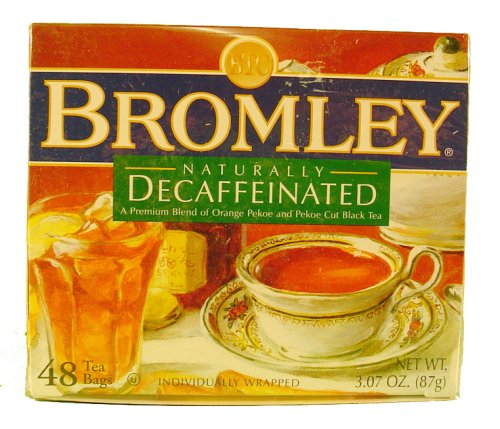 Bromley Naturally Decaffeinated Tea 48 Ct