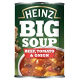 Heinz Big Soup Beef/ Tomato and Onion 400 g (Pack of 12)