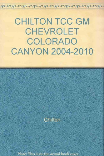 chilton-tcc-gm-chevrolet-colorado-canyon-2004-2010