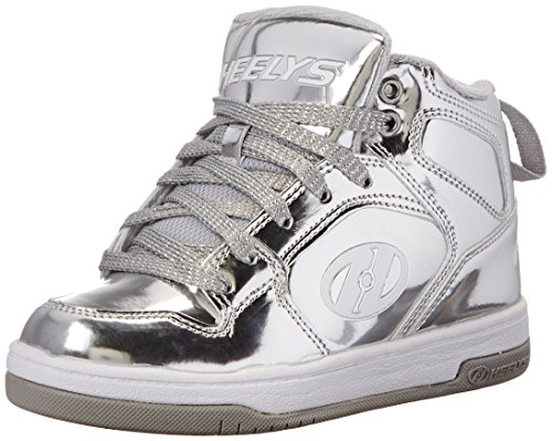 Heelys Flash Sneakers a Collo Alto Cromate - UK 4 / EU 36.5