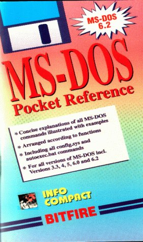 MS-DOS Pocket Reference (Pocket Reference Info Compact)