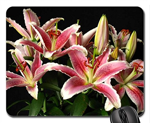-lilies-mouse-pad-mousepad-flowers-mouse-pad