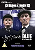 Sherlock Holmes - The Sign Of Four / Blue Carbuncle [DVD] [1965]