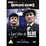 Sherlock Holmes - The Sign Of Four / Blue Carbuncle [DVD] [1965]by Peter Cushing