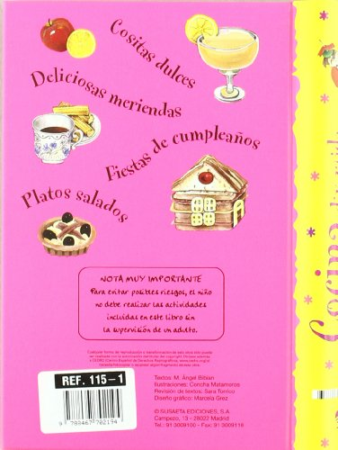 Libro cocina divertida para ninos fun cuisine for kids - Cocina divertida para ninos ...