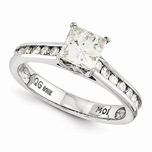 14Kw Semi Mount Moissanite Ring