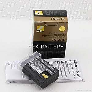 NIKON Batterie EN-EL15 pour NIKON D7000
