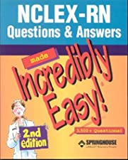 NCLEX RN Questions and Answers Made Incredibly Easy by Lisko