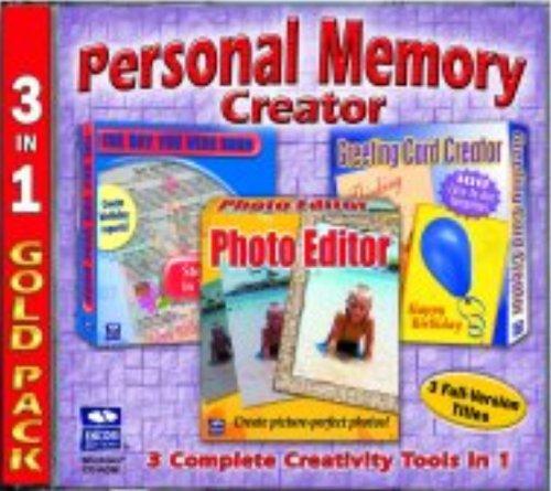 Personal Memory Creator  3-in-1 (Photo Editor, Greeting Card Creator, Day You Were Born)