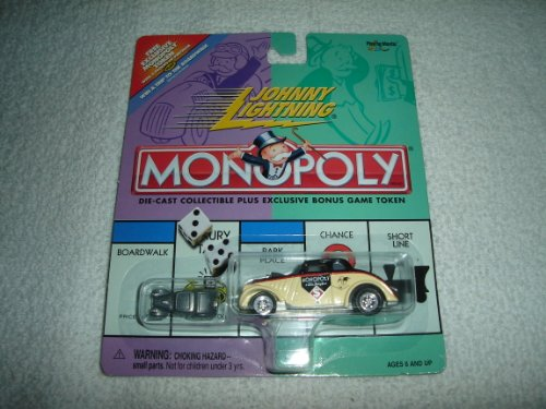 Johnny Lightning Monopoly Vintage Monopoly Willys - 1