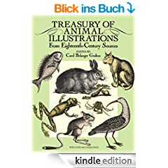 Treasury of Animal Illustrations: From Eighteenth-Century Sources (Dover Pictorial Archive)