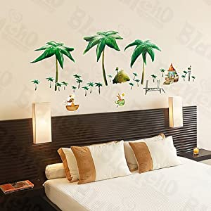 Beach Cottage Large Wall Decals Stickers