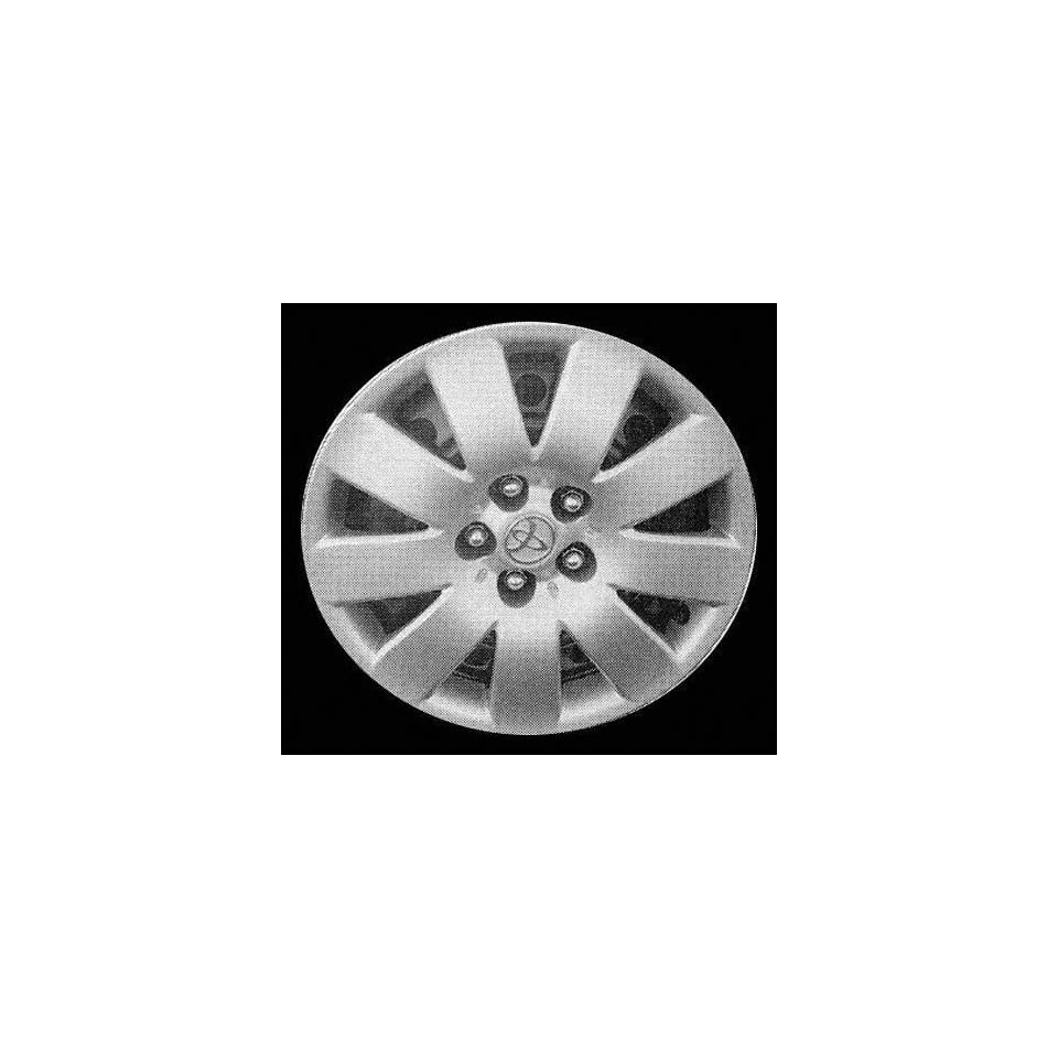 03 04 TOYOTA COROLLA WHEEL COVER HUBCAP HUB CAP 15 INCH, 9 SPOKE BRIGHT SILVER 15 inch Check out our aftermarket replacem (center not included) (2003 03 2004 04) T261233 FWC61123U20