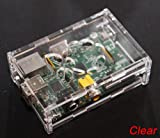 PCSL Brand – Raspberry Box SE – Clear – Special Edition – Professional Box / Raspberry pi Case for your Raspberry Pi – FREE UK Delivery from Amazon – Unique Screw design, Strong Design!!! No Clips or Plastics Lugs