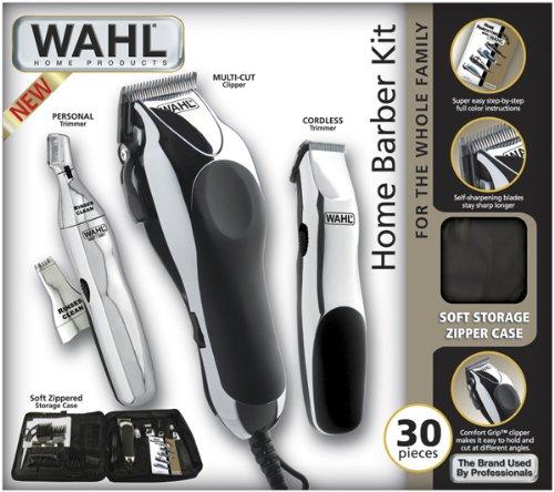 Barber Kit : Wahl+Barber+Kit Wahl 79524 3001 Home Barber 30 Piece Kit Free Shipping ...