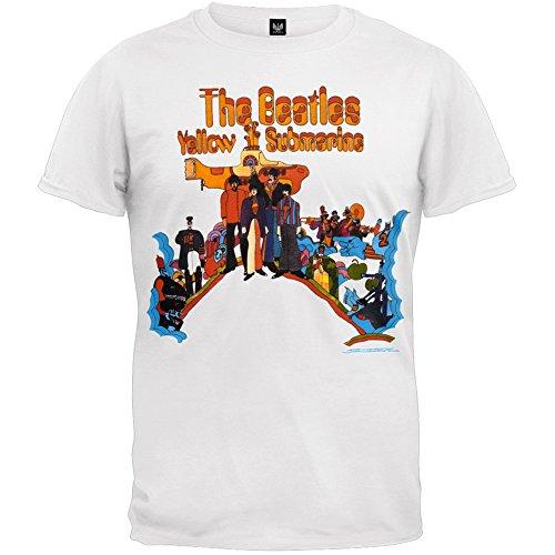 Old-Glory-The-Beatles-para-hombre-con-diseo-de-la-pelcula-T-camiseta-de-manga-corta