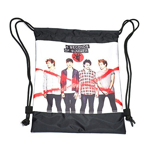 DrawString Bag 5sos 5 Seconds of Summer String Bags 201 (5sos Merchandise For Girls compare prices)