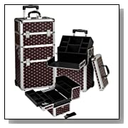 Seya Professional Rolling Makeup Case Cosmetic Organizer Kit