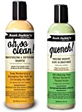 Aunt Jackie s Oh so Clean Shampoo & Quench Leave-in Conditioner 12 Oz Each