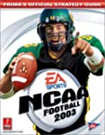 NCAA Football 2003: Official Strategy...