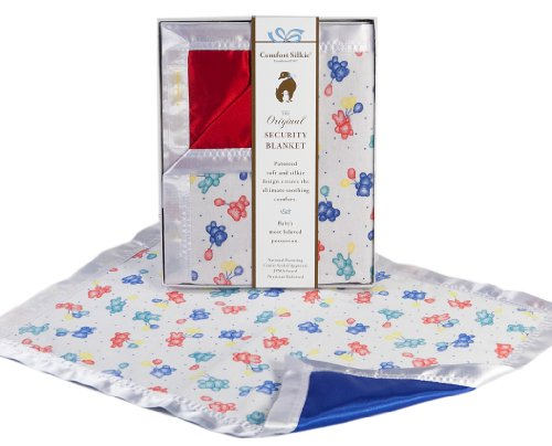 The Celebration Collection Security Blanket by Comfort Silkie ~ Primary (Red)