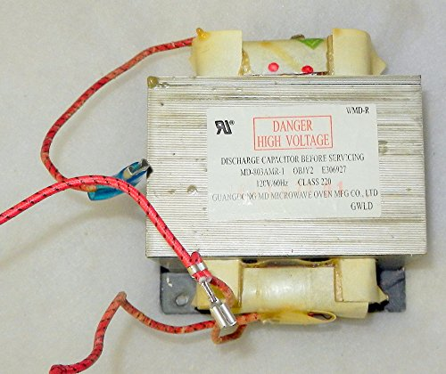 Recertified Emerson MD-803AMR-1 E306927 120V High Voltage Transformer (Emerson Microwave Oven Parts compare prices)