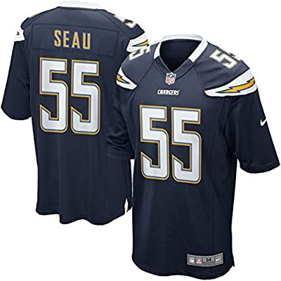 San Diego Chargers 55 Junior Seau Football Mens Game Jersey