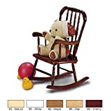 JENNY LIND STYLE KID ROCKER - Natural