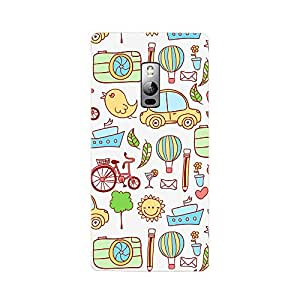 Fusion Gear Cartoon Back Case for OnePlus 2